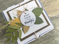 In The Cat Cave: Keep Calm and Be Thankful | A Paper Pumpkin Thing Blog Hop