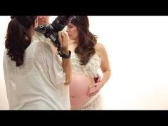 Maternity Photography Session Inside and Outside in natural light with Ana Brandt - YouTube