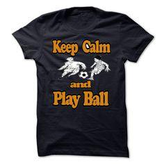 keep calm and play football - #tee #long hoodie. SIMILAR ITEMS => https://www.sunfrog.com/LifeStyle/keep-calm-and-play-football-11764605-Guys.html?id=60505