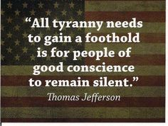 silence tyranny