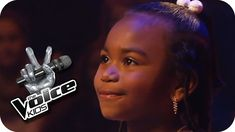 Alicia Keys - Girl On Fire (Chelsea) | The Voice Kids 2013 - If this doesn't make you smile and feel good, you need to take a look at your smile button. This is one super talented and adorable little girl!! | Blind Audit...