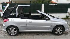 Peugeot 206 CC 1.6 preços usados