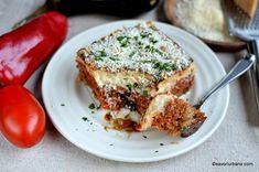 cea mai buna musaca greceasca reteta pas cu pas (1) Mai, Salmon Burgers, Ethnic Recipes, Food, Salmon Patties, Meals, Yemek, Eten