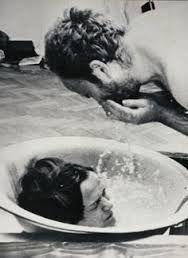 KwieKulik, Activities with the HEad, 1978. Body performance.