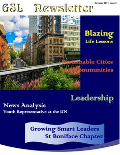 Growing Smart Leaders (GSL)  NewsletterIissue 3