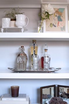 How to Build a Bar Tray Vignette