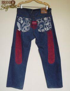 EVISU Paris Jeans men s 36 X 31 Straight Relaxed Cut Mens Leisure Wear, Evisu, Paris, Casual, How To Wear, Clothes, Ideas, Design, Fashion