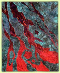 "Lava FLow - 16""x20"" Pat Dolan - Artist: Recent Work"