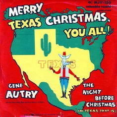 Merry Texas Christmas - love this song!