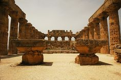 Selinunte Acropolis Interior