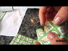 Pano de prato – Como colocar barrado, detalhes como viés e acabamento final | Cantinho do Video