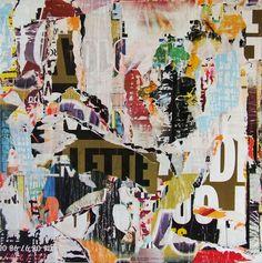 "Saatchi Online Artist: Christian Gastaldi; Paper, 2012, Assemblage / Collage ""Sous le Pont 127"""