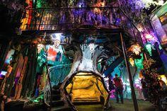 Meow Wolf art installation, Santa Fe, New Mexico Meow Wolf Santa Fe, Tomorrowland Festival, Route 66 Trip, Family Road Trips, United States Travel, Mexico Travel, Summer Travel, Installation Art, Vacation Spots