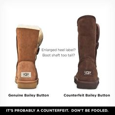 Real Uggs vs Fake Uggs - How to tell the difference