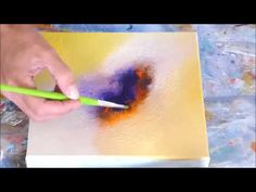 Abstract painting demo - Démonstration peinture abstraite (6)- Althea - YouTube