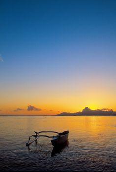 Sunrise in Tahiti