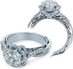 Verragio Halo Twist Engagement Ring AFN-5051R