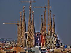 Possibly the most amazing church I've ever seen - Sagrada Familia.