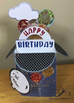 Happy Birthday Balloon Card in a Box