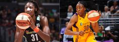 NEW YORK, July 6, 2016 – Tina Charles of the New York Liberty and Nneka Ogwumike of the Los Angeles Sparks today were named the WNBA's Eastern and Western Conference Players of the Week, respectively, for games played June 27 through July 3. Charles earned Player of the Week honors for the fifth time in …