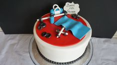 Fitness, gym, workout cake