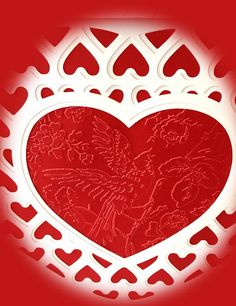 Craft Creations: Truly- Madly- Deeply- Valentine Heart Lantern- Lips Box- Ornate Cards