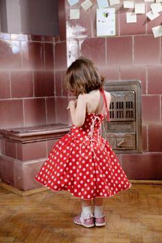Rochita eleganta rosie cu buline pentru fetite | Zizette Summer Dresses, Vintage, Style, Fashion, Swag, Moda, Summer Sundresses, Fashion Styles, Vintage Comics