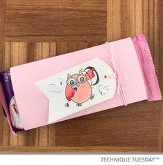 Love Owl Cupid DIY Candy Bar Wrap