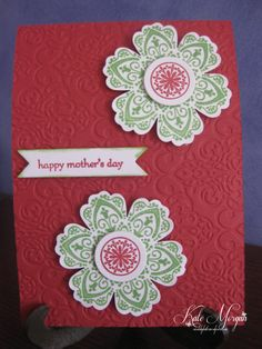 Stampin' Up! Mother's Day Card using Blossom & Mixed Bunch