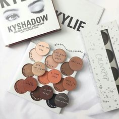 Kylie bronze palette dupes from colourpop cosmetics pressed shadows.  Source : trendmood