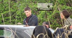 Supernatural - Episode 10.23 - My Brother's Keeper - BTS Photos   Spoilers