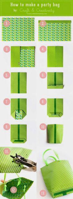 Tas kertas cantik biasanya digunakan pada saat kamu memberikan gift/kado untuk teman atau sanak saudara. Agar kado yang kamu berikan lebih menarik, percantiklah tas untuk membawa kado tersebut. Yuk Belajar membuat sendiri tas dari kertas kado yang cantik.  Jika kamu tertarik dengan kreasi kamu maka kamu dapat berbisnis dari produk yang sudah kamu buat. Yuk mulai dari hal yang sederhana, maka kamu akan bisa berbisnis dengan kreatif. Semoga bermanfaat...