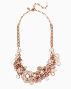 charming charlie | English Rose Statement Necklace | UPC: 410007424295 #charmingcharlie