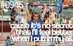 """ktfitness: """" Wow, these two girls have made me want to join a new CrossFit gym. Camille Leblanc-Bazinet and Julie Foucher. I've always had this love/hate relationship with CrossFit though. Gym Memes, Gym Humor, Workout Humor, Crossfit Humor, Reebok Crossfit, Crossfit Video, Crossfit Quotes, Exercise Humor, Crossfit Chicks"""