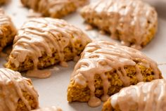 Pumpkin Scones. This will save me money this fall - I won't have to get them at Starbucks