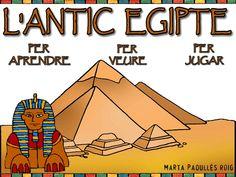 projecte interactiu Ancient Egypt Crafts, Montessori, Homeschool, Continents, Culture, Projects, Kids Fun, School Projects, Historia