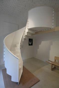 Bolt Together Fiberglass Spiral Stair