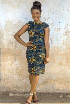 Ethically produced dresses using African Print Fabric - African Fashion Dresses Latest African Fashion Dresses, African Inspired Fashion, African Dresses For Women, African Print Fashion, Africa Fashion, African Attire, African Print Clothing, African Print Dresses, African Wear Designs
