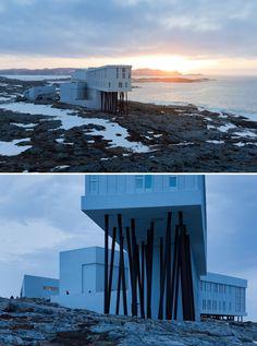 Fogo Island Inn Saunders Architecture
