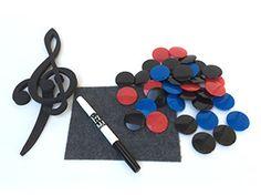 E-Z Large Staff/Chalk Board accessories