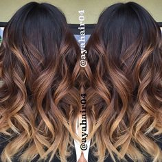15 Best Maroon Hair Color Ideas of 2019 - Dark, Black & Ombre Colors - Style My Hairs Gorgeous Hair Color, Cool Hair Color, Hair Colors, Hair Color Ideas For Dark Hair, Brunette Color, Brunette Hair, Brunette Ombre Balayage, Hair Color Balayage, Hair Highlights