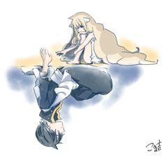 Fairy Tail - Mavis and Zeref Fairy Tail Gray, Fairy Tail Love, Fairy Tail Ships, Zeref, Gruvia, Erza Scarlet, Fairy Tail Couples, Anime Fairy, Anime Shows