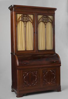 Secretary John and Joseph W. Meeks (active ca. 1836–57) Date: 1836–50 Geography: Mid-Atlantic, New York City, New York, United States Culture: American Medium: Rosewood, satinwood, poplar, pine, walnut