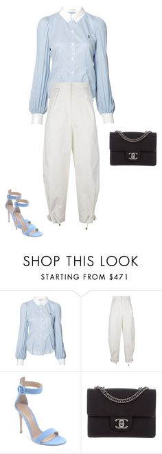 """""""Untitled #17921"""" by explorer-14576312872 ❤ liked on Polyvore featuring Marc Jacobs, Kenzo and Chanel"""