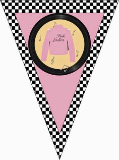 SWEET PRADO: A fat party to celebrate my birthday - Halloween Suggestions Grease Themed Parties, 50s Theme Parties, Grease Party, Retro Party, 50th Birthday Party, Birthday Invitations, Sock Hop Party, Disco Party, Diy For Teens