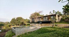 The Riparian House. La casa del rio