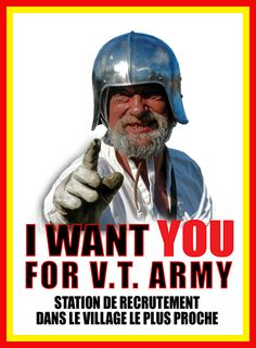 I want you for VT Army