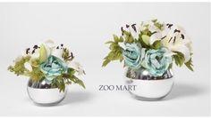 ZOO·MART 仲夏夜组合花艺C 法式美式 新古典样板房/床头花艺摆设