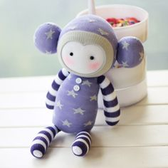 DIY sock doll kits