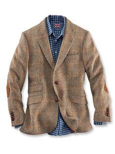 77118311cd880f Fischgratsakko aus Harris Tweed in Hellbraun von Robertson bestellen - THE  BRITISH SHOP - englische Herrenkleidung